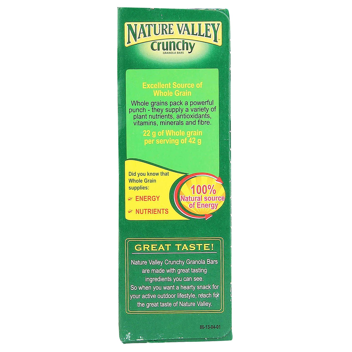 Are Nature Valley Granola Bars Crunchy Good For You