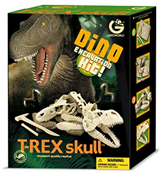 Geoworld - Ed236k - Jeu Scientifique - Excavation Kit - Crane De Rex