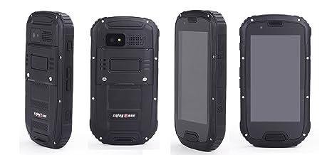 """Bestore - EnjoyTone® Etanche à la poussière Résistant aux chocs Android IP68 Mtk6589 Quad Core RAM 1GB 4GB de ROM 8.0MP 4.3 """"WCDMA / GSM 3G Compass GPS smartphone avec carte de garantie d'Bestore (noir)"""