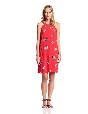 Splendid Women's Ashbury Bloom Flower Print Dress, Fiesta, X-Small
