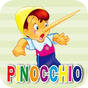 The Adventure of Pinocchio(Beautiful graphics version):World Classic Fairy Tales,Touching,interesting and helpful for children,more than 100,000 five-stars comments on dangdang