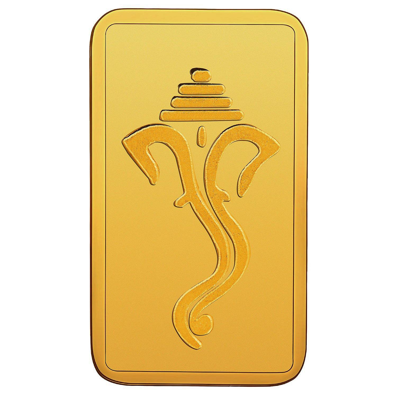 RSBL BIS hallmarked 10 gm, 24KT (999) Yellow Gold Bar