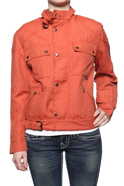 Belstaff Cordlinen Damen Jacke BRITANNIA, Farbe: Dunkelorange
