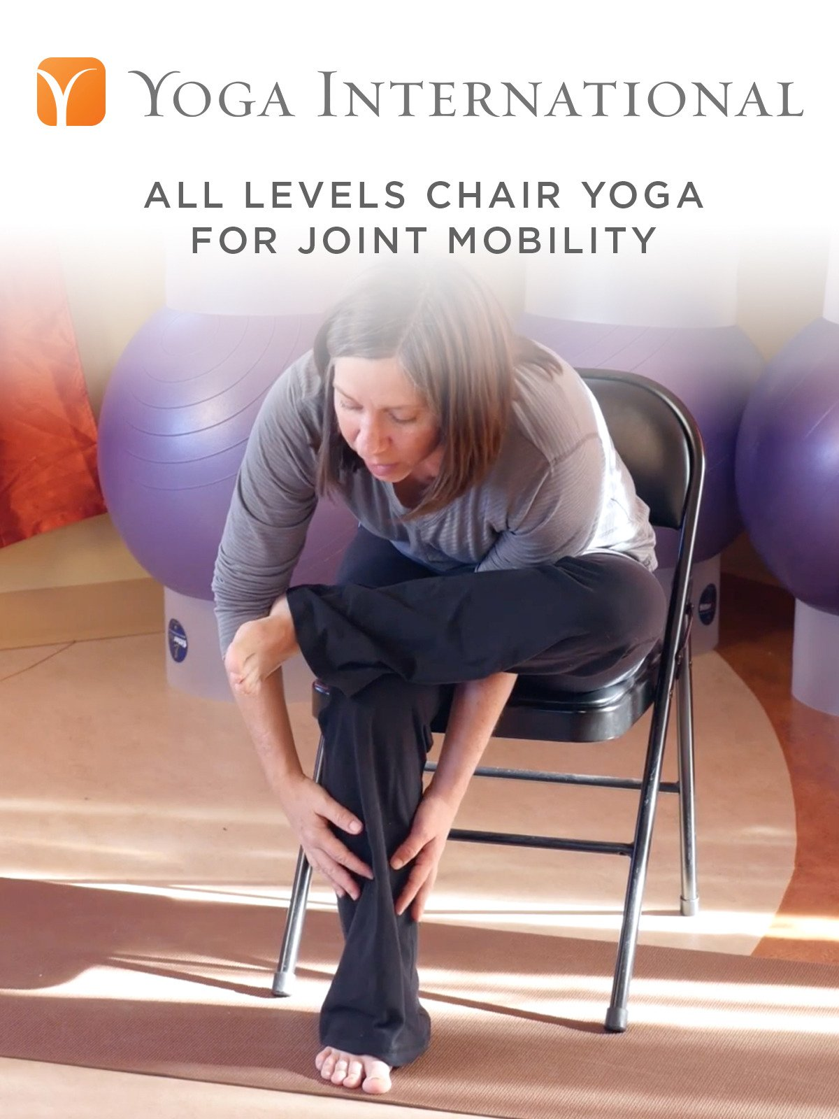 All Levels Chair Yoga for Joint Mobility on Amazon Prime Instant Video UK