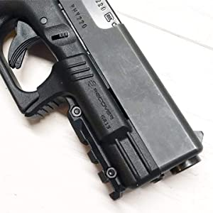 Recover Tactical GR19L Rail Adapter for Glock 19 and 23 Generation 1 and 2. No Modifications Required, Installs in Under 3 Minutes
