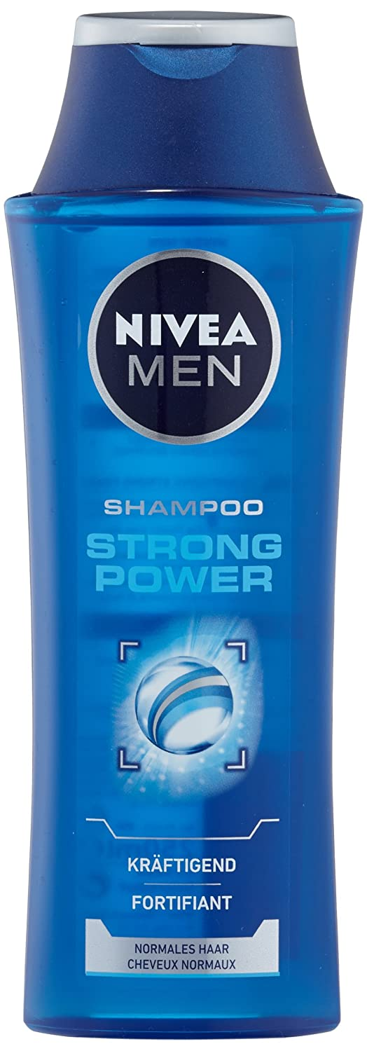 Nivea Men Strong Power Shampoo , 4er Pack