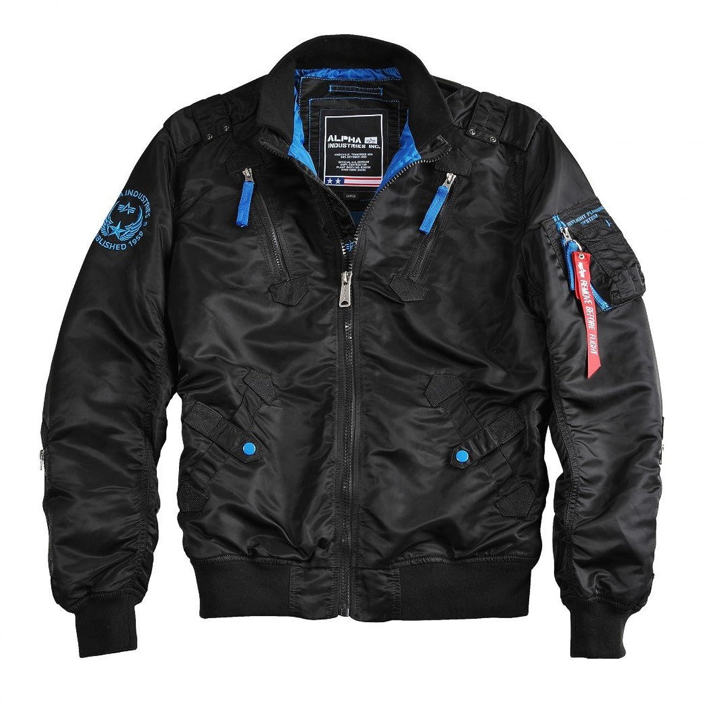 Alpha Industries Herren Übergangsjacke Falcon II schwarz jetzt kaufen