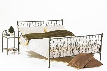 1 matelpro lit fer forg free cuivre 90 x x 190 cm cuisine maison m44. Black Bedroom Furniture Sets. Home Design Ideas