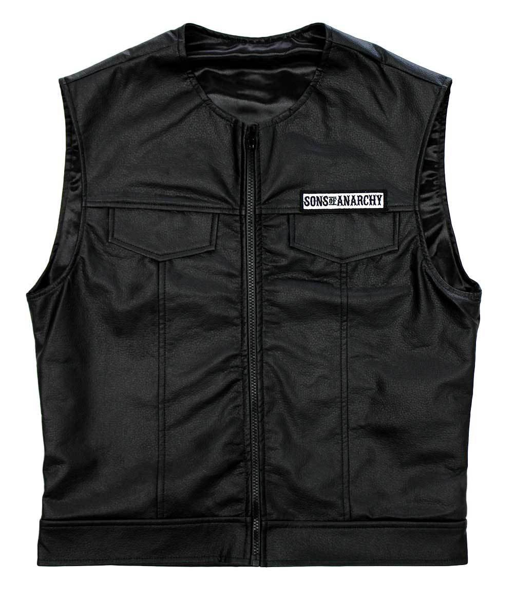 sons of anarchy official vest officially licensed jax. Black Bedroom Furniture Sets. Home Design Ideas