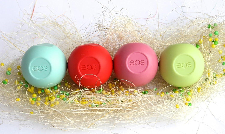 4x eos EOS Lip Balm Honeydew MINT SummerFruit
