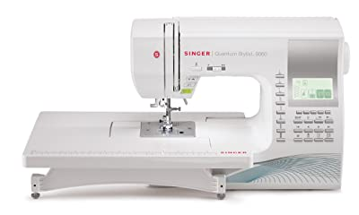 INGER 9960 Quantum Stylist 600-Stitch Computerized Sewing Machine Review