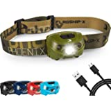 Flagship-X Phoenix Rechargeable Waterproof LED Camping Headlamp Flashlight for Running - Green