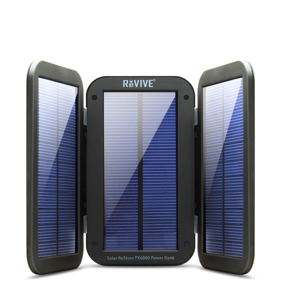 Bateria y cargador solar de alta capacidad para móviles y dispositivos