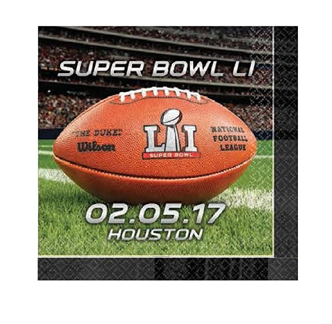 Super Bowl 51 Beverage Napkins