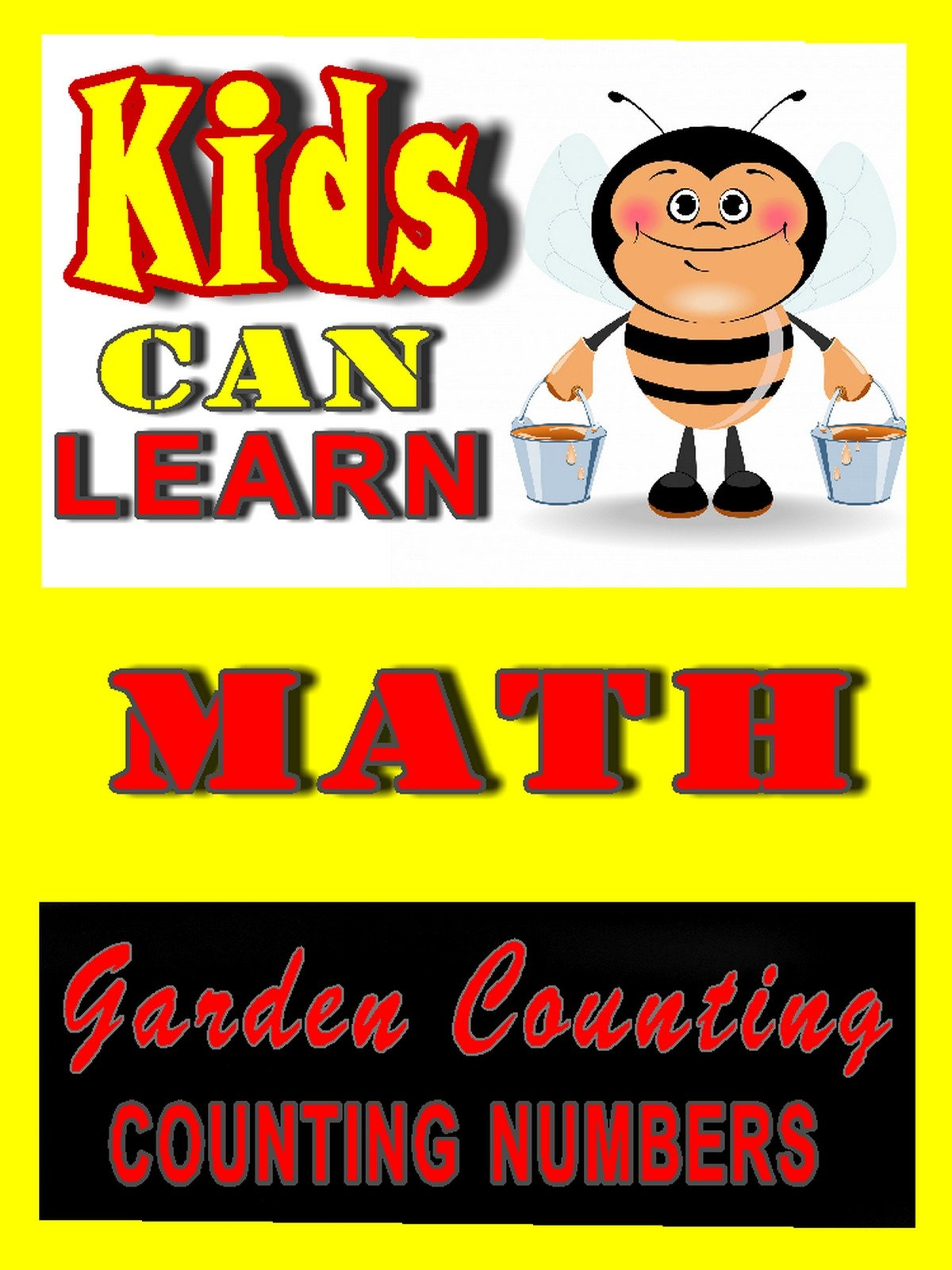 Kids can Learn Math, Garden Counting (Number Counting)