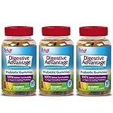 Digestive Advantage Probiotic Gummies, 80 count (Pack of 3) (Tamaño: 240 Count)