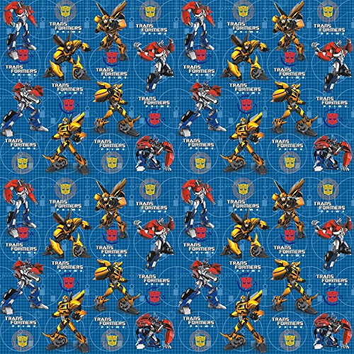 Transformers Wrapping Paper (Robot Wrapping Paper compare prices)