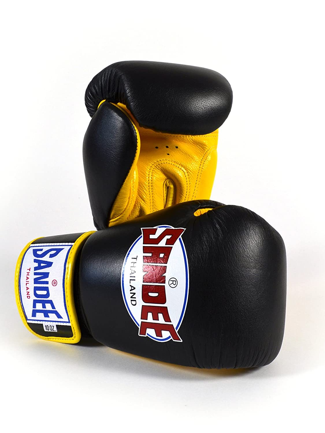 Sandee Authentic Velcro Leather Boxing Glove