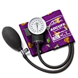 ADC Prosphyg 760 Pocket Aneroid Sphygmomanometer with Adcuff Nylon Blood Pressure Cuff, Small Adult, Animals Print (Color: Animals Print, Tamaño: Small Adult)