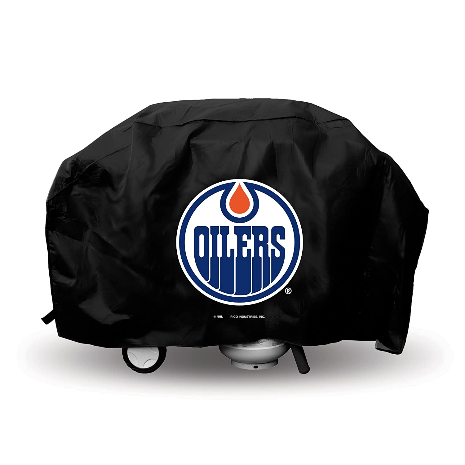 Edmonton Oilers Official NHL 68 inch x 21 inch x 35 inch Grill Cover by Rico Industries 812553 худи print bar edmonton oilers