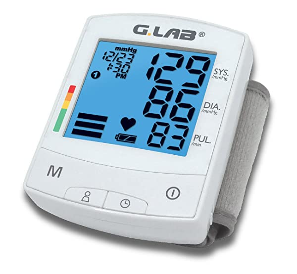 G.LAB Digital Automatic md2231 Wrist Cuff Blood Pressure Monitor, 2.3 Ounce