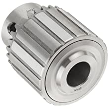"Llambrich CY Plain Bearing Medium Duty Taper Mount K2 Keyed Drill Chuck, 33JT Mount, 1-49/64"" Chuck Diameter, 1/64""-1/2"" Capacity"