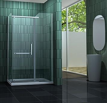 2 cabine de douche enco enco 120 x 90 cm sans sans bac bricolage m59 - Cabine de douche sans bac ...