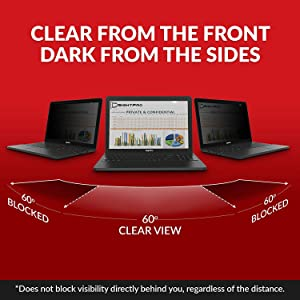 SightPro 15.6 Inch Laptop Privacy Screen Filter for 16:9 Edge-to-Edge Widescreen Display - Computer Monitor Privacy and Anti-Glare Protector (Color: 15.6 Inch 16:9 Edge-to-Edge, Tamaño: 15.6 Inch 16:9 Edge-to-Edge)