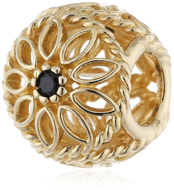 Pandora Damen-Charm 585 Gelbgold Spinell schwarz – 750821SPB online bestellen