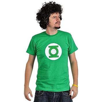 Linterna verde camiseta del escudo al estilo de - Tabla doblar camisetas ...