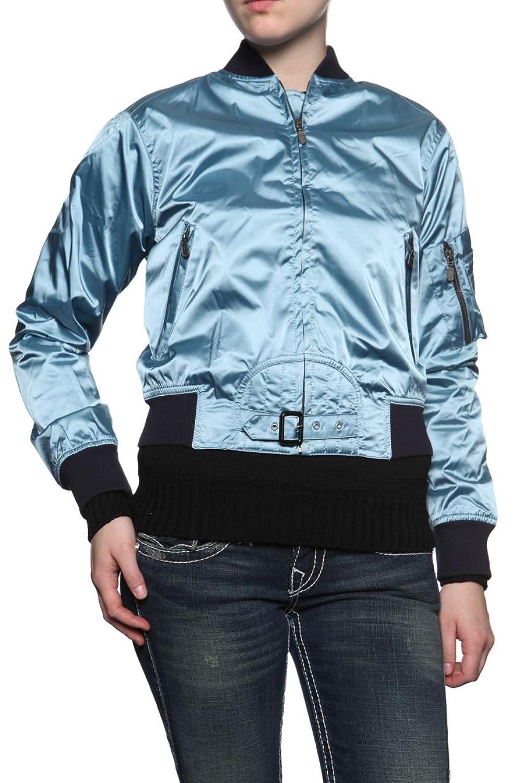 Belstaff Black Label Damen Jacke Blouson-Jacke SOLDIER, Farbe: Hellblau