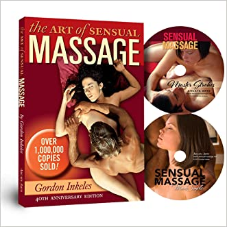 The Art of Sensual Massage: 40th Anniversary Edition Book and 2 DVD Set