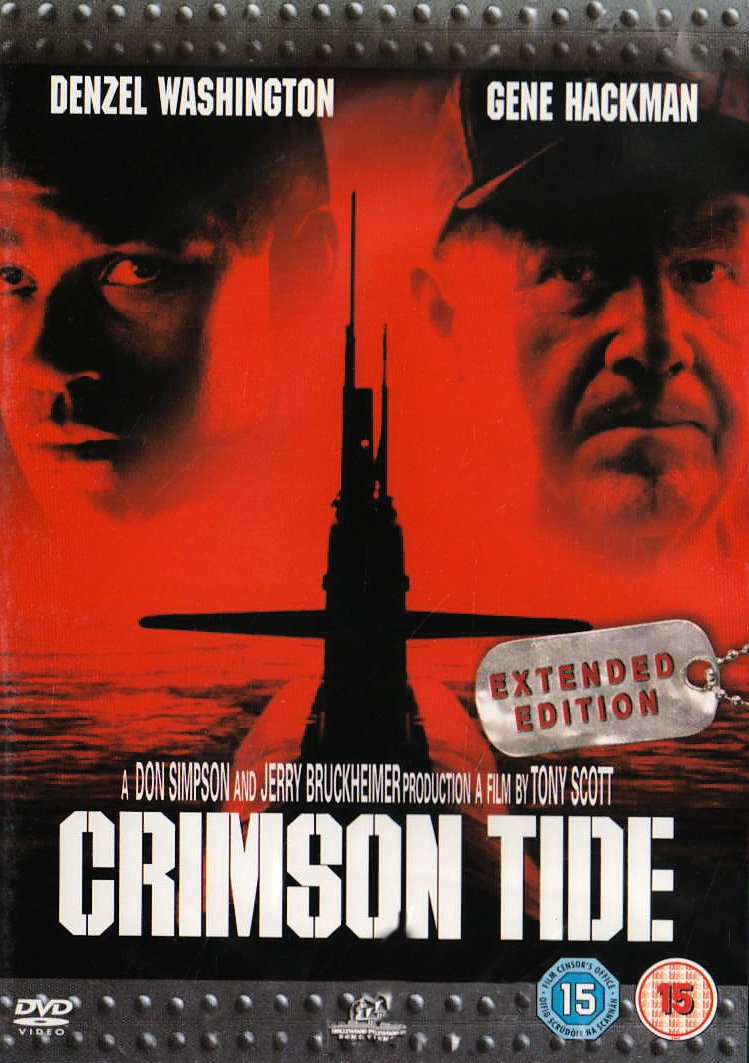crimson tide film essay The 1995 blockbuster hit, crimson tide, is an account in which two senior officers engage in a power struggle on board a nuclear missile submarine this paper analyzes the conflict core and explores possibilities of resolution and prevention.
