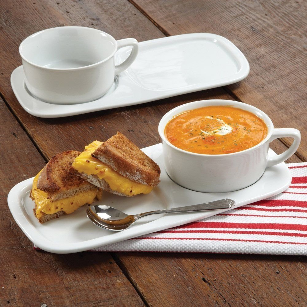 4-Piece Soup and Sandwich Set | amazon.com