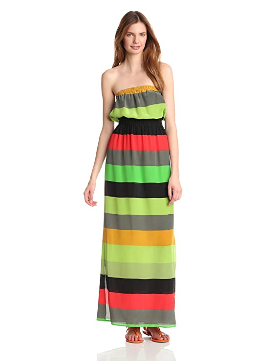 Twelfth Street by Cynthia Vincent Women's Waisted Maxi Dress