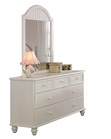 Hillsdale Westfield White Dresser