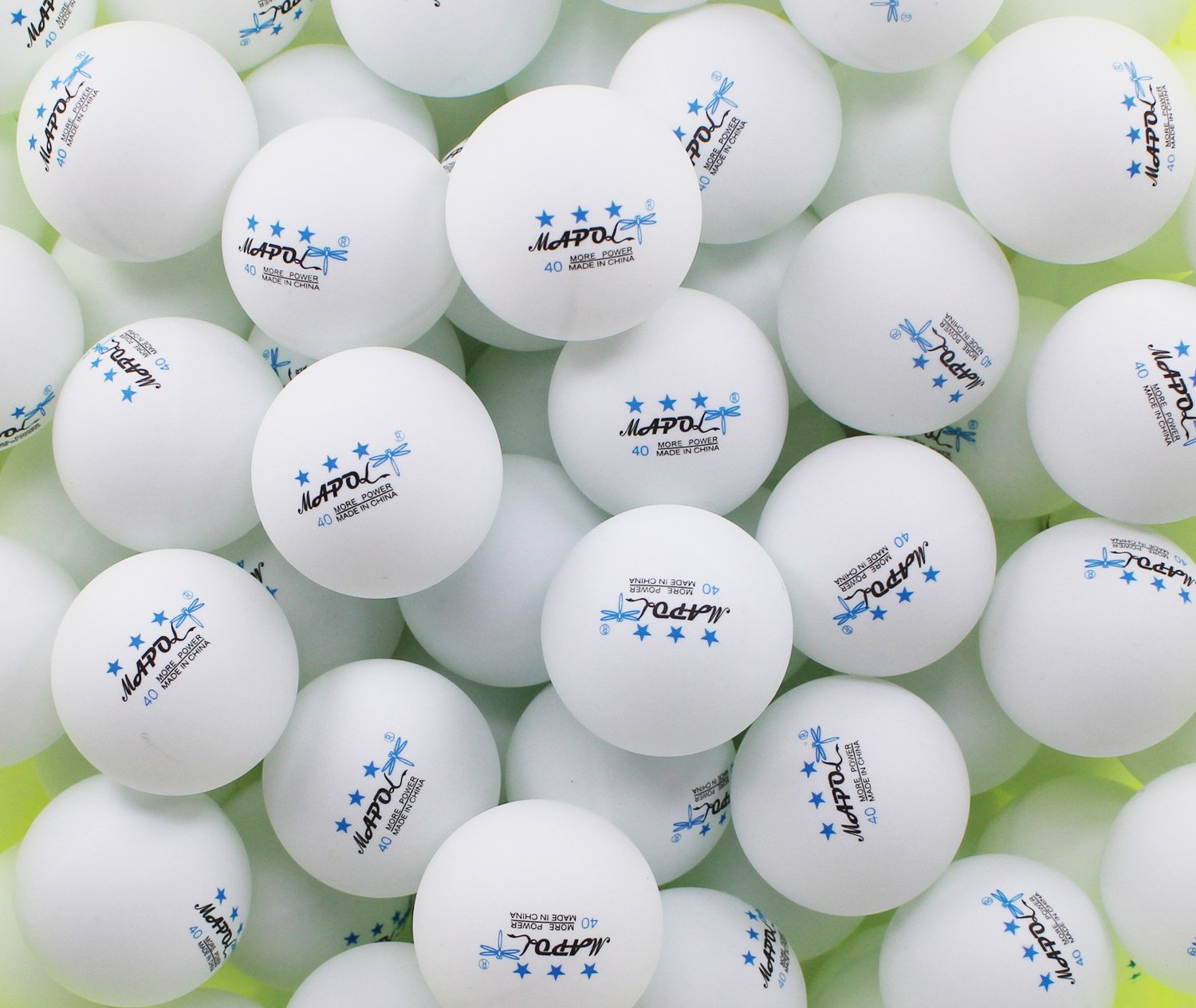 Galleon 100 white 3 star 40mm table tennis balls for 100 table tennis balls