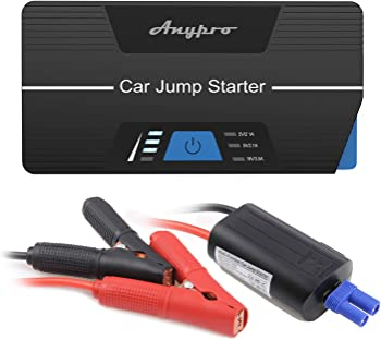 Anypro Car Jump Starter with Smart Clips