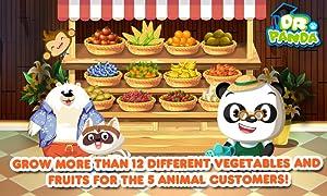 Dr. Panda's Veggie Garden from Dr. Panda