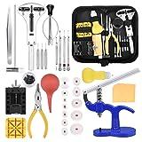 ETEPON Watch Repair Kit Professional Watchmaker's Tools Watch Case Back Opener Tool Kit [Updated] ET017 (Tamaño: B)