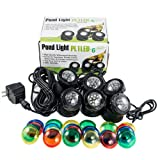Jebao PL1LED-6 Submersible Pond LED Light with Colored Lenses