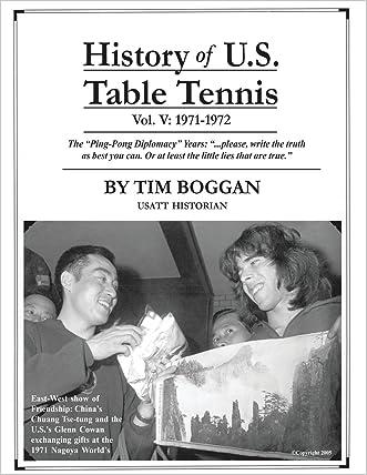 History of U.S. Table Tennis Volume 5
