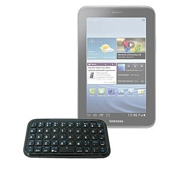 DURAGADGET Mini tastiera Bluetooth (android) per Samsung Galaxy Tab P1000