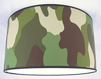 1 abat jour fait main 36cm vert noir. Black Bedroom Furniture Sets. Home Design Ideas