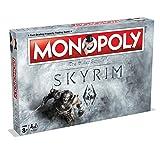 Winning Moves Games Skyrim Monopoly Board Game (Color: Skyrim)