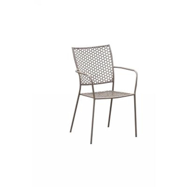 Inko Eisen Sessel Soho, stapelbar, taupe kaufen