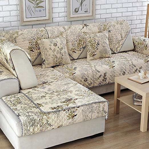 Almohadón de sofá Almohadilla de sofá de algodón Almohadilla de almohada de almohadilla antideslizante ( Tamaño : 70*180cm )