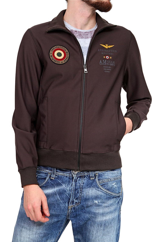 Aeronautica Militare Herren Blouson-Jacke , Farbe: Dunkelbraun online bestellen