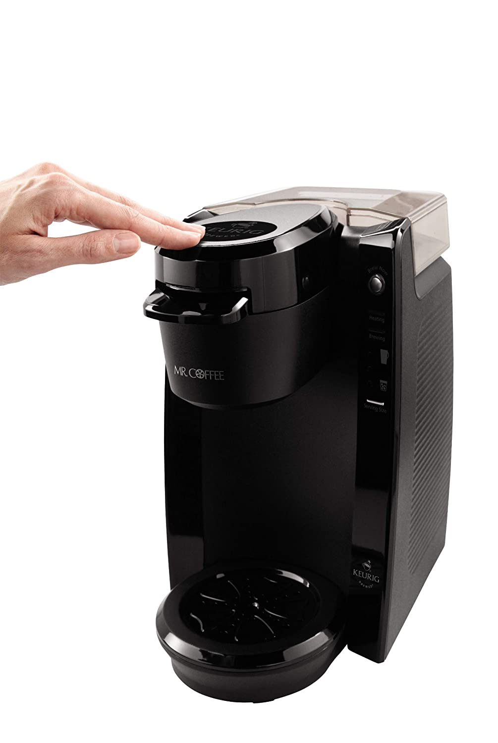 Mr. Coffee BVMC-KG5-001 Single Serve Coffee Brewer Powered ...