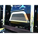 Peterbilt 362 COE BACK OF CAB GRILL W/7 LOUVER-STYLE BARS(304) by Roadworks